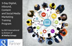 3-Day Content, Inbound, Social Media & Digital Marketing Training