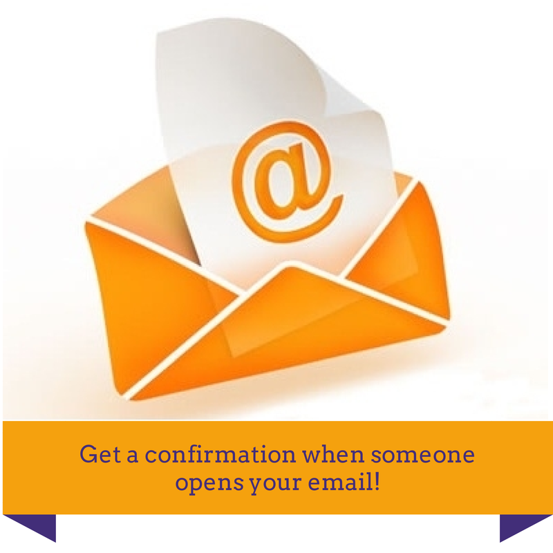 Get a confirmation when someone opens