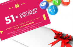 51% Discount Offer to All Clients & Fans – Valid till Tue, Sept 15, 2015