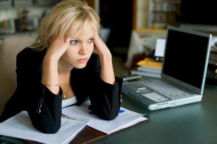 unhappy blogger