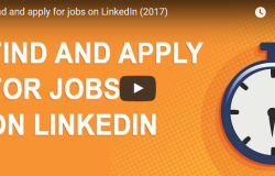 Create Job Alerts / Find & Apply a Job using LinkedIn