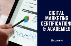 Digital Marketing Certifications & Online Academies