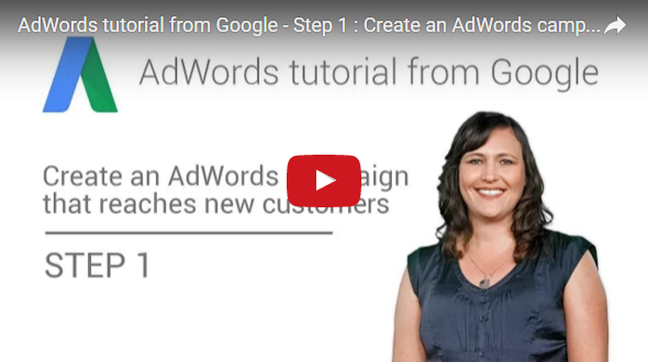 Google AdWords Official Tutorial in 16 Steps [90-minute videos]