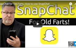How to use SnapChat? Explained by Steve Dotto