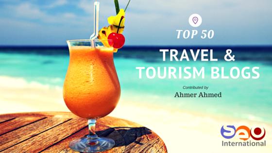 Top 50 Travel & Tourism Blogs