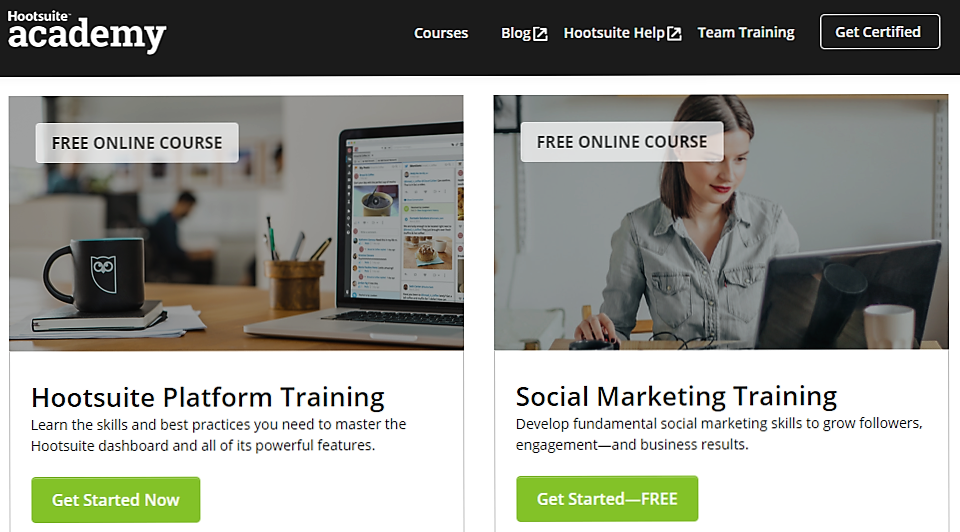 HootSuite Certification - Social Media Marketing