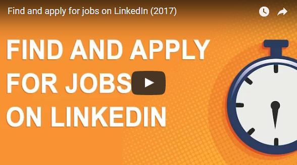 Create Job Alerts / Find & Apply a Job using LinkedIn