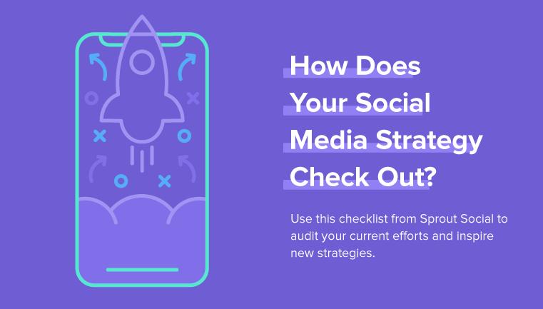 Social Media Marketing Strategy Checklist 2018 [Infographic]