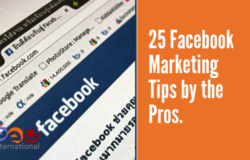 25 Facebook Marketing Tips by the Pros
