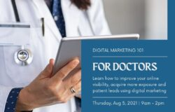 Digital Marketing Courses for Doctors & Healthcare Providers